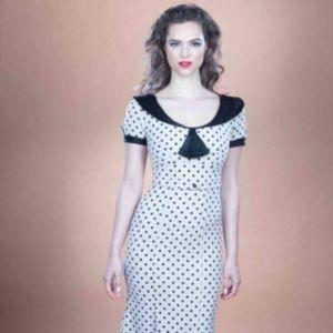 Stop Staring! Original Railene Polka Dot Dress